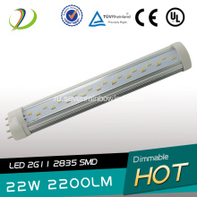 Replace Fluorescent 2G11 led tube light